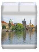 Prague Reflected Duvet Cover