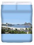 Botafogo Beach Duvet Cover