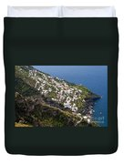 Praiano Village Duvet Cover