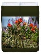 Prairie Fire Duvet Cover