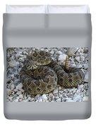 Prairie Rattlesnake South Dakota Badlands Duvet Cover
