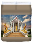 Pranburi Temple Duvet Cover