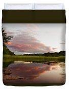 Pratt Cove Sunset Duvet Cover