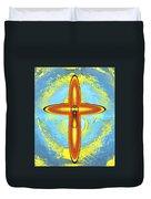 Prayer Cross For Brenda Lee Hager Morgan 8 Duvet Cover