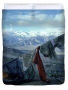 Prayer Flags Leh Ladakh Duvet Cover