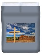 Prayers In The Desert Duvet Cover
