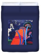 Prayers Of Peace Duvet Cover