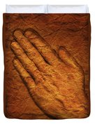 Praying Hands Duvet Cover by Don Hammond