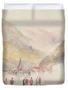 Pre St Didier, 1836 Duvet Cover