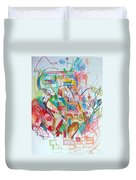 Precious Is Man For He Is Created In The Divine Image 3 Duvet Cover