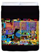precious is man for he is created in the Divine Image 8 Duvet Cover by David Baruch Wolk