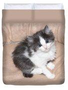Precious Kitten Duvet Cover