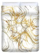 Precious Metal 1 White Decorator Collection 1 Duvet Cover