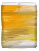 Precious Metals Abstract Duvet Cover by Andee Design