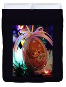 Precious Moments Christmas Ornament Duvet Cover