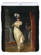 Preparing For The Ball Duvet Cover by Frederick Soulacroix