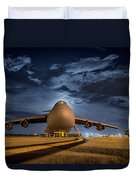 Prepped For Flight Duvet Cover