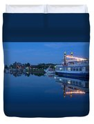 Prerow Hafen Duvet Cover