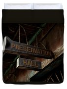 Preservation Hall Jazz Club Duvet Cover