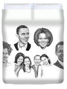 Presidential Duvet Cover by Murphy Elliott