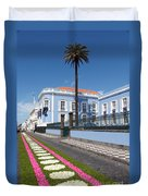 Presidential Palace - Azores Duvet Cover