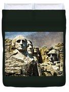 Presidential Rocks Duvet Cover