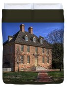 President's House College Of William And Mary Duvet Cover