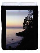 Presque Isle In Pastels Duvet Cover