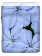 Prettiest Plumbago Duvet Cover