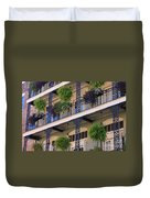 Pretty Balcony Duvet Cover