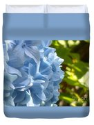 Pretty Blue Flower Duvet Cover