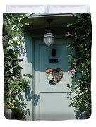Pretty Door In Nether Wallop Duvet Cover