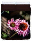 Pretty Flowers Duvet Cover by Joe Fernandez