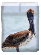 Pretty Gulf Pelican Duvet Cover