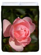 Pretty In Pink Rose Bud Duvet Cover