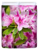 Pretty In Pink - Spring Flowers In Bloom. Duvet Cover