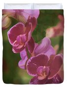 Pretty In Pink Water Color Effect Duvet Cover