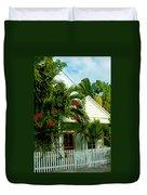 Pretty Key West Florida Duvet Cover