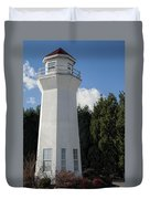 Pretty Lighthouse In Decatur Alabama  Duvet Cover
