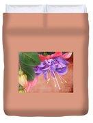 Pretty Little Fuchsia Duvet Cover