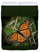 Pretty Monarch Duvet Cover