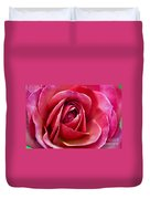 Pretty Pink Muted Duvet Cover