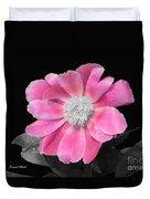 Pretty Pink Petals  Duvet Cover