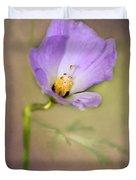 Pretty Purple Flower Duvet Cover