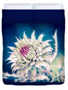 Prickly Thistle Bloom Duvet Cover