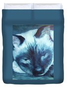 Prima Donna, Cat Duvet Cover