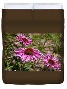 Primadonna Deep Rose Echinacea Duvet Cover