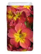 Primrose Flowers Duvet Cover