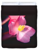 Bright Flower In Your Life Duvet Cover