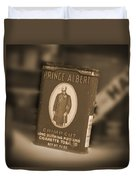 Prince Albert In A Can Duvet Cover